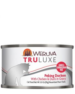 Weruva TruLuxe Peking Ducken Chicken and Duck Canned Cat Food