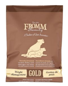 Fromm Family Foods - Weight Managment Gold- Dog Food