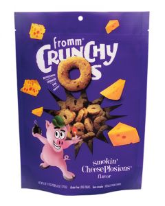 Fromm Family Foods Crunchy Os Smokin' CheesePlosions Dog Treats
