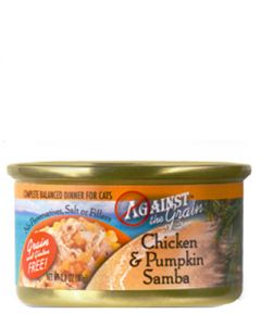 Against the Grain Chicken & Pumpkin Samba Dinner Canned Cat Food