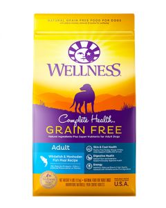 Wellness Complete Health Grain Free Adult Whitefish Dry Dog Food