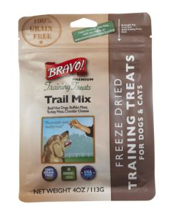 Bravo! Premium Freeze Dried Trail Mix Dog Training Treats