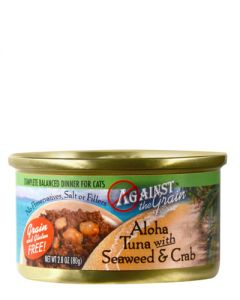 Against the Grain Aloha Tuna w/Seaweed & Crab Dinner Canned Cat Food