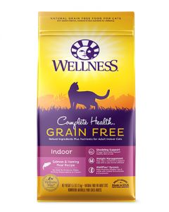 Wellness Complete Health Grain Free Indoor Salmon Dry Cat Food