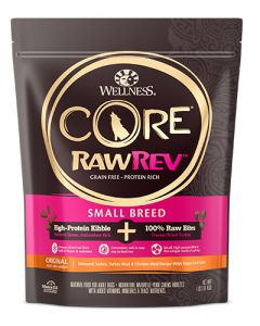 Wellness Core RawRev Small Breed Turkey Dog Food
