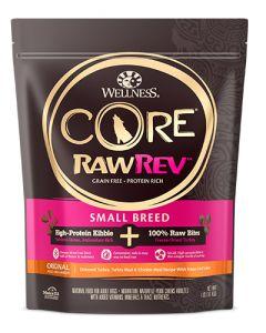Wellness Core RawRev Small Breed Turkey Dog Food