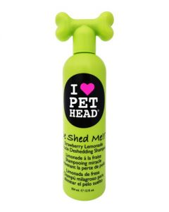 Pet Head Inc De Shed Me! Strawberry Lemonade Miracle Deshedding Shampoo