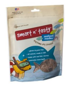 Smart n' Tasty Seafood Grain Free Dog Treats