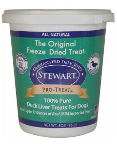 Stewart - Pro Treat Raw Freeze Dried Duck Liver