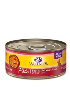 Wellness Complete Health Pâté Beef & Chicken Dinner Canned Cat Food