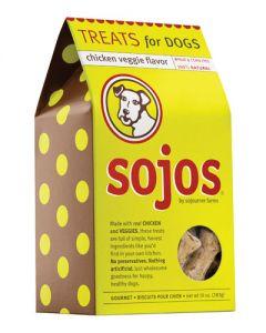 Sojos Chicken Veggie Dog Treats