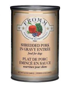 Fromm Family Foods Four Star Shredded Pork in Gravy Entree Dog Food