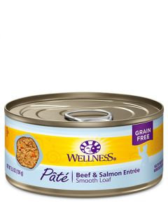 Wellness Complete Health Pâté Beef & Salmon Dinner Canned Cat Food