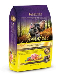 Zignature Turkey Limited Ingredient Formula Dry Dog Food