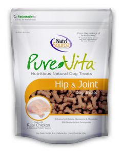Pure Vita Hip & Joint Dog Treats made with Real Chicken