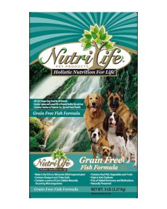 Nutri Life Grain Free Fish Formula Holistic Dog Food