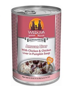 Weruva Amazon Liver Chicken & Chicken Liver Canned Dog Food