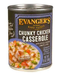 Evangers Hand Packed Specialties Chunky Chicken Casserole Dinner Canned Dog Food