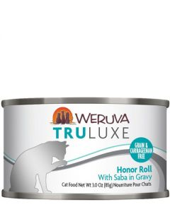 Weruva TruLuxe Honor Roll Saba Canned Cat Food