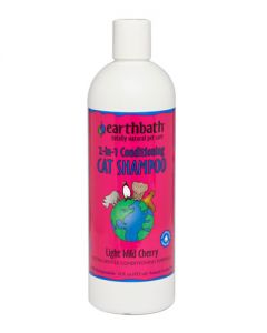 Earthbath 2 in 1 Conditioning Cat Shampoo with Aloe Vera - Wild Cherry Essence