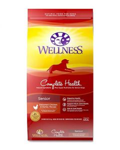 Wellness Complete Health Chicken & Barley Senior Dog food