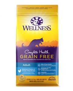 Wellness Complete Health Grain Free Indoor Chicken Dry Cat Food