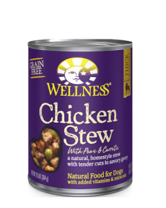 Wellness Chicken Stew Canned Dog Food