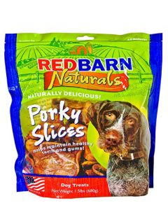 Redbarn Products Porky Slices Dog Chews