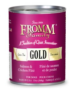 Fromm Family Foods Gold Salmon & Chicken Pate Dog Food