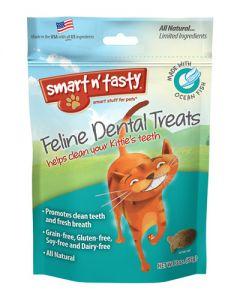 Smart n' Tasty White Fish Dental Cat Treat