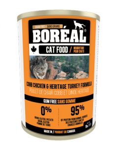 Boreal Cob Chicken & Heritage Turkey Grain Free Canned Cat Food