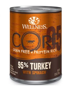 Wellness CORE Turkey With Spinach Canned Dog Food