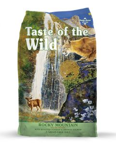Taste of the Wild Rocky Mountain with Roasted Venison & Smoked Salmon Grain Free Cat Food