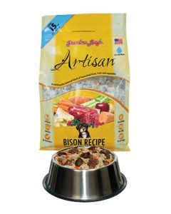 Grandma Lucy's Grain Free Artisan Bison All Natural Freeze Dried Dog Food