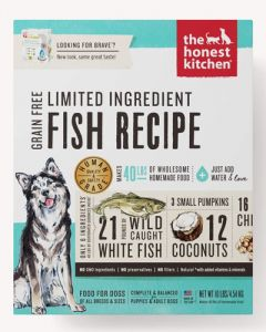 The Honest Kitchen Brave Limited Ingredient Grain Free Fish Dog Food