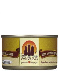 Weruva Meow Luau Mackerel & Pumpkin Canned Cat Food
