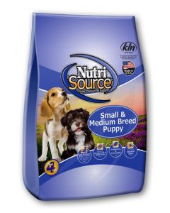 NutriSource Chicken & Rice Formula Small/Medium Breed Puppy Food
