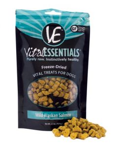 Vital Essentials® Freeze-Dried Wild Alaskan Salmon Grain Free Limited Ingredient Dog Treats