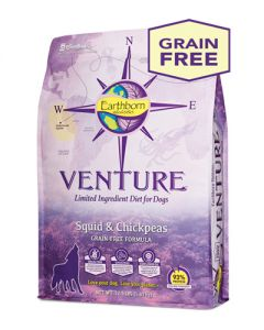 Earthborn Holistic Venture Squid & Chickpeas Dog Food