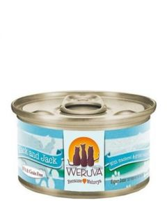 Weruva Mack and Jack Mackerel & Grilled Skipjack Canned Cat Food