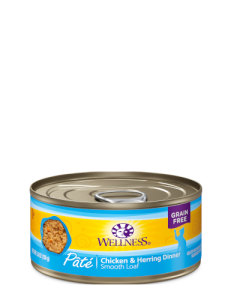 Wellness Complete Health Chicken & Herring Patte Canned Cat Food