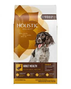 Holistic Select - Grain Free Adult Health Duck Meal - Dry Dog Food