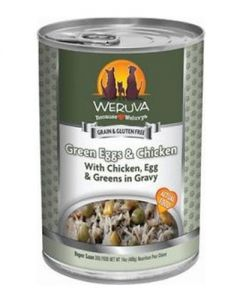 Weruva Green Eggs & Chicken with Chicken, Egg & Greens in Gravy Canned Dog Food