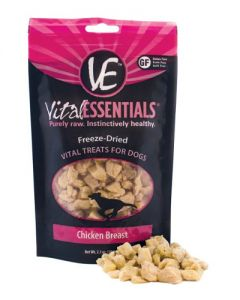 Vital Essentials® Freeze-Dried Chicken Breast Grain Free Limited Ingredient Dog Treats
