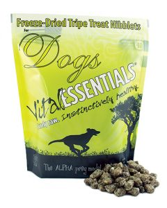 Vital Essentials® Freeze-Dried Beef Tripe Nibblets Grain Free Limited Ingredient Dog Treats