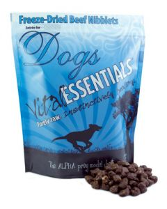 Vital Essentials® Freeze-Dried Beef Nibblets Grain Free Limited Ingredient Dog Entrée