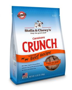 Stella & Chewy's Carnivore Crunch Freeze Dried Beef Recipe Dog Treats
