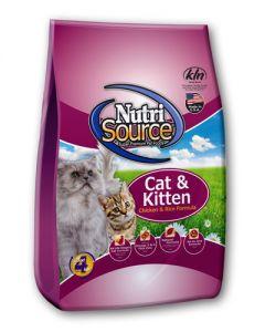 NutriSource Chicken & Rice Formula Cat & Kitten Food