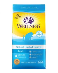 Wellness Natural Hairball Control Dry Cat Food