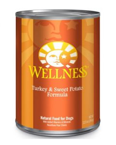 Wellness Pet Food Turkey & Sweet Potato Canned Dog Food